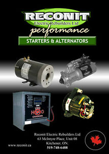 Starter & Alternator Repair - Waterloo,kitchener, Cambridge
