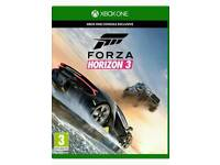 xbox one New and sealed and forza horizon 3