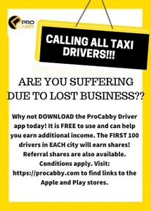 CALLING ALL TAXI DRIVERS!!!