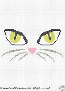 Free Cat S Eye Cross Stitch Patterns