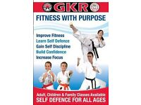 Self Defence and Fitness classes in Crawley.