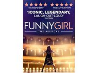 2 x Funny Girl Tickets - Mon 26th Sep 7.30pm