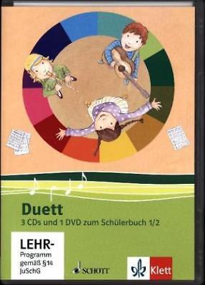 Duett - Neubearbeitung. 3 Audio-CDs und 1 Video-DVD zum Schülerbuch 1/2 | 2010 - 3 Video Und 2 Audio