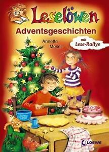 Leseloewen-Adventsgeschichten-von-Annette-Moser-2011-Gebundene-Ausgabe