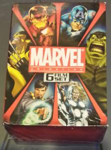 Marvel Animation Six Film DVD Set New and Unopened