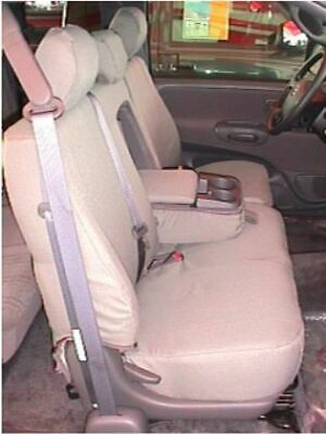 2005-2006 Toyota Tundra  Front Exact Fit 40/60 Seat Covers TAN Twill SAVE Now.