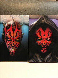 STAR WARS THE WRATH OF DARTH MAUL HARD COVER BOOK WITH SLEEVE