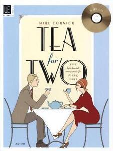 Tea for Two, für Klavier zu 4 Händen mit Audio-CD