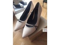 Brand new Furla cream Italian shoes - £30