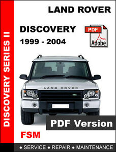 average maintenance cost for a 2004 land rover discovery. Black Bedroom Furniture Sets. Home Design Ideas