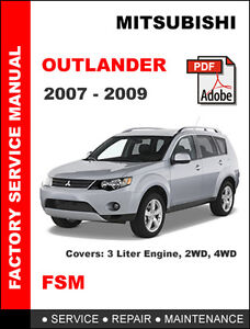 mitsubishi outlander manual ebay. Black Bedroom Furniture Sets. Home Design Ideas