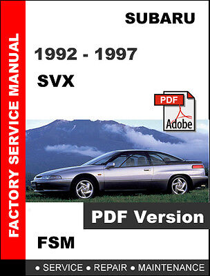 1985-1996 Subaru Coupes Sedans Wagon Chilton Repair Service ...