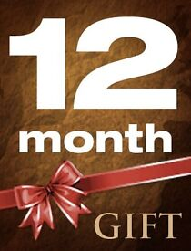 12 Month Full Gift, Best Package Online - 100% Guarantee