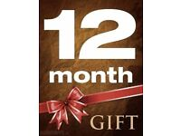 VM GIFT - 12 MONTHS - TESTS AVAILABLE