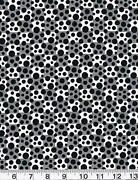Red Black Polka Dot Fabric