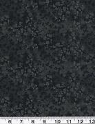 Black Cotton Quilting Fabric