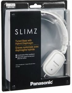 Slimz BLACK Stereo Headphones Panasonic - NEW