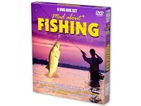 Mad About Fishing Box Set 8 DVDS
