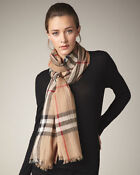 FAKE BURBERRY PINK SCARVES