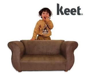 NEW KEET FANCY KID'S SOFA - BROWN KID'S SOFA BROWN 107797326