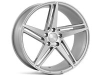 """18""""x 8 or 18""""x9 Veeman V-FS31 Alloy wheels and tyres (Suit most VW AUDI & SEAT MODELS)"""
