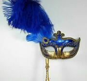 Masquerade Mask on Stick