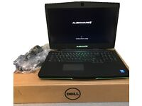 5 Months Warranty Alienware Nvidia GTX 8GB 880m 16GB RAM Gaming Laptop m17x I7 4TH Refurbished