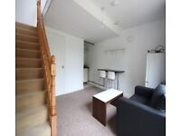 Self contained flat joined to a house, with private entrance, bills included, close to town centre