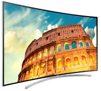 APRIL CLEARANCE SALE ON H8000 CURVED SMART SAMSUNG SERIES
