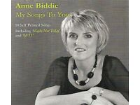ANNE BIDDIE – MY SONGS TO YOU - NEW