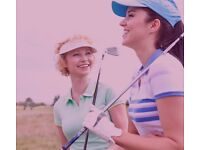 Women's group golf coaching for beginners and improvers