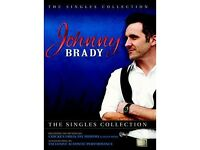Johnny Brady – The Singles Collection DVD - NEW