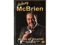 ANTHONY MCBRIEN – ME AND MY COUNTRY (DVD) - NEW