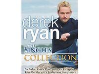 DEREK RYAN – THE SINGLES COLLECTION DVD - NEW