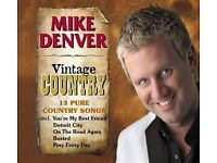 MIKE DENVER VINTAGE COUNTRY - NEW