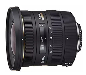 Lens grand angle Sigma EX 10-20mm pour Canon