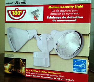 NEW Heath Zenith 300-Watt Motion Sensor Twin Security Light