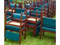Function Chairs - Mid/Dark Green, Good Condition