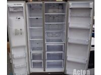 Samsung RSG5UURS American Style Fridge Freezer, Silver ONLY £500ono RRP***£1349***