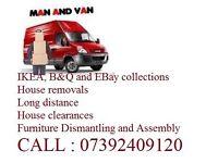 Solihull Local Man & Van Hire Solihull to London Collection & Delivery Van Birmingham Man & Van Hire