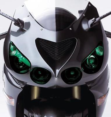 GREEN LENS SPRAY TINT PAINT HEADLAMP HEADLIGHT INDICATOR MOTORCYCLE