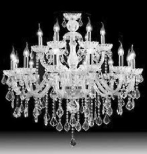 Elegant chandelier from Forest Hill home! Now free!