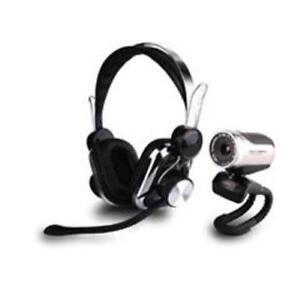 Chat Package - Webcam and Stereo Headset *NEW*