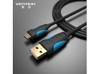 Micro usb 2.0 cable mobile charger 1m for Android mobiles, brand new
