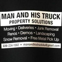 MAN AND HIS TRUCK -Property Solutions