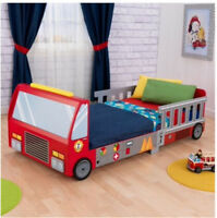 NEW in Box KidKraft Fire Truck Toddler Bed