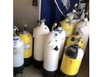 Dive cylinders / dive tank