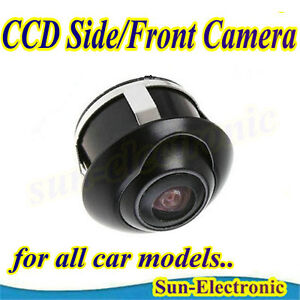 360° CCD Car Vehicle Front / Side / Rear View Reverse Camera Universal Fit