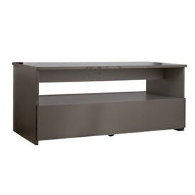 Hygena Aurora 1 Drawer Coffee Table - Grey Gloss