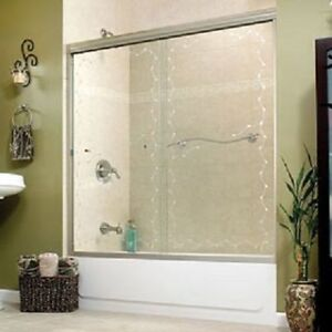 BRAND NEW MAXX VINE 2 PANEL BATH SHOWER DOORS